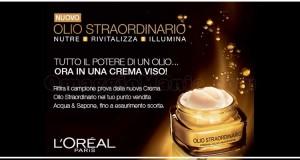Acqua & Sapone - campione omaggio Olio Straordinario
