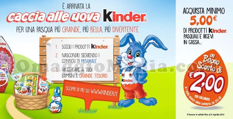 Caccia alle uova Kinder da Carrefour