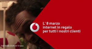 Festa della Donna Vodafone internet in regalo