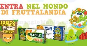 Fruttalandia Zuegg biglietto omaggio Mondoparchi