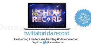 Lo Show dei Record Twitter