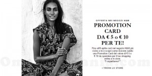 Promotion Card H&M