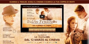biglietti cinema omaggio Suite Francese IoDonna