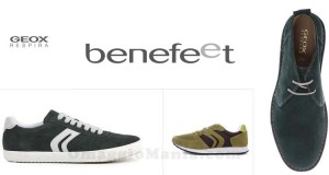 buoni sconto Geox con Benefeet 2015