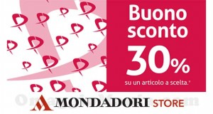 buono sconto Pittarosso da Mondadori Store