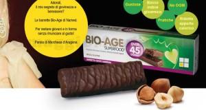campione omaggio barretta BioAge Superfood
