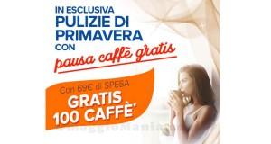 cialde caffè omaggio con Casa Henkel