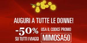 codice sconto Italo Treno per la Festa della Donna