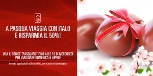 codice sconto Pasqua Italo Treno