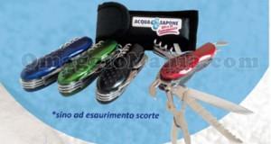 coltellino omaggio da Acqua&Sapone per la Festa del Papà