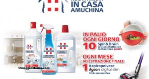 concorso Amuchina vinci Guzzini e Dyson
