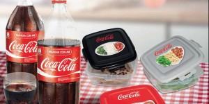 contenitori omaggio con Coca Cola e Sigma