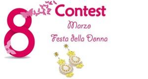 contest Festa della Donna vinci orecchini Happy