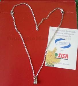 gioiello con Swarovski omaggio ricevuto da Sabry77