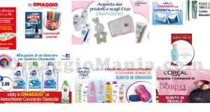 omaggi con acquisto Acqua&Sapone fino al 6 aprile
