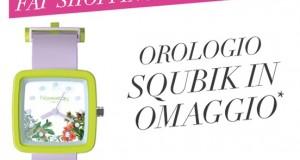 orologio Squbik omaggio da Nomination
