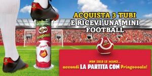 palla Pringles Mini Football omaggio