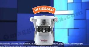 robot Moulinex Cuisine Companion omaggio da Unieuro