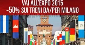 sconto Italo Treno per Expo Milano 2015