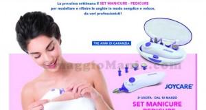 set manicure e pedicure Joycare con TV Sorrisi e Canzoni