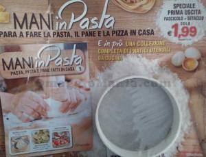 setaccio omaggio con Mani in Pasta