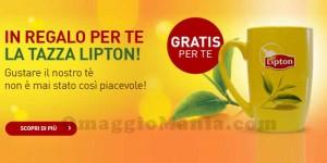 tazza Lipton omaggio da Unilever