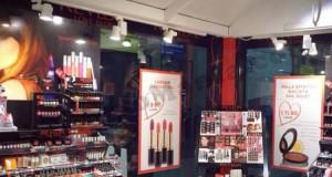 temporary store Revlon Italia a Milano