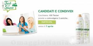 test&share klorane