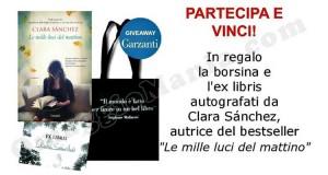 vinci borsina e ex libris autografati da Clara Sanchez