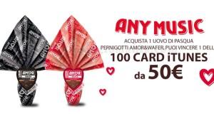 vinci card iTunes con Pernigotti