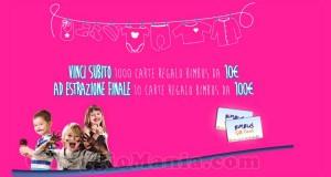 vinci carte regalo Bimbus con Vanish