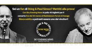 vinci concerto Sting&Paul Simon