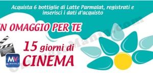 vinci il cinema con latte Parmalat
