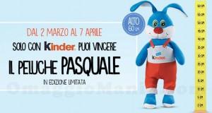 vinci peluche Pasquale con Kinder
