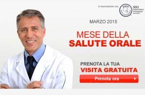 visita gratuita Mese della Salute Orale 2015