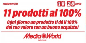 11 prodotti al 100% da Media World