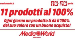 11 prodotti al 100% da Media World