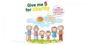 Kiabi Humana Give me 5 for charity