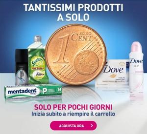 Tanti prodotti Unilever a 1 cent
