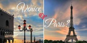 Venezia o Parigi - vinci con HostelsClub