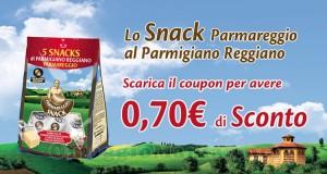 buono sconto Parmareggio Snack