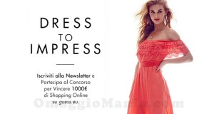concorso Guess Dress to Impress