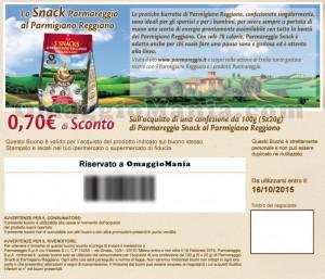 coupon snack Parmareggio