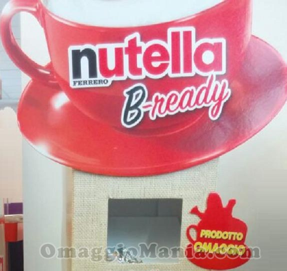 espositore Nutella B-ready