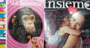 libro I miei amici animali omaggio con la rivista Insieme