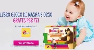 libro gioco Masha e Orso Lisciani omaggio