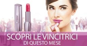 lista vincitrici rossetto Deborah Milano Red Shine