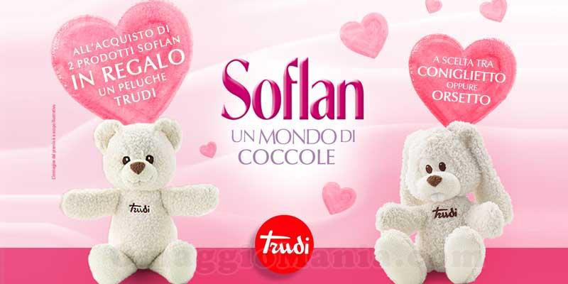 peluche Trudi omaggio Soflan un mondo di coccole