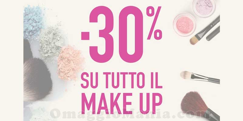 sconto make up Upim 30%