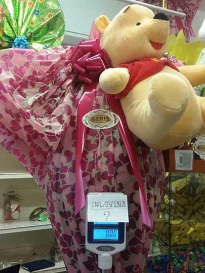 uovo di Pasqua Genis + peluche Winnie the Pooh